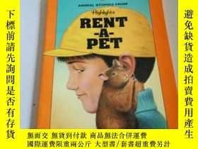 二手書博民逛書店RENT罕見A PET(英文)Y212829