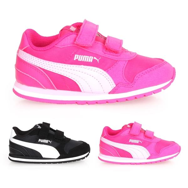 PUMA ST Runner v2 NL V Inf 男女小童復古慢跑鞋(慢跑 童鞋 免運 ≡排汗專家≡