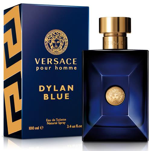 Versace 凡賽斯 狄倫‧正藍男性淡香水(100ml)-送品牌包★ZZshopping購物網★