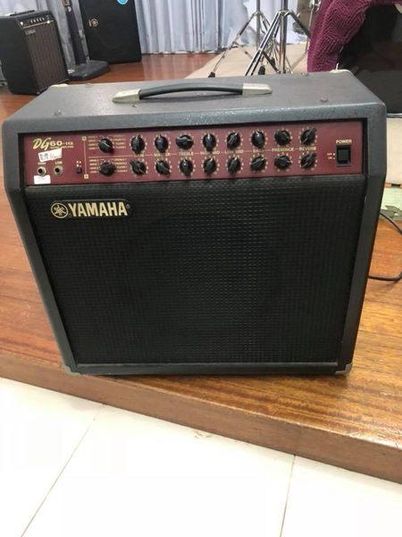 凱傑樂器 中古美品 YAMAHA DG60 -112 電吉他 音箱 公司貨