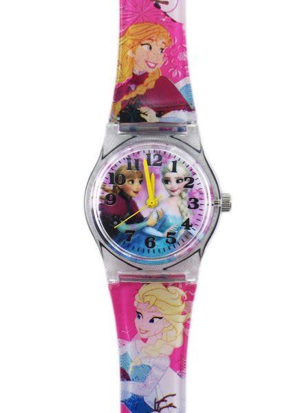 【卡漫城】 冰雪奇緣 卡通錶 M ㊣版 艾莎 安娜 公主 Elsa Anna Frozen 手錶 兒童錶 塑膠錶