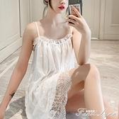 性感睡衣女夏薄款蕾絲公主風吊帶睡裙大碼私房挑逗小胸激情誘惑騷 范思蓮恩