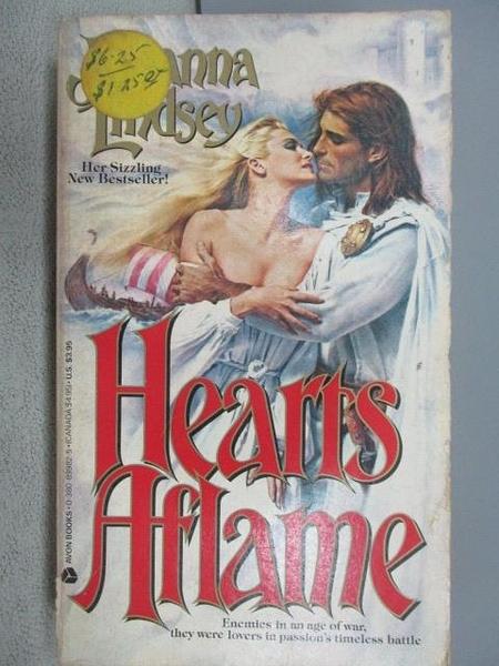 【書寶二手書T5/原文小說_MDN】Hearts Aflame_Johanna Lindesy