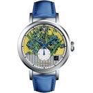 梵谷Van Gogh Swiss Watch小秒盤梵谷經典名畫女錶 C-SLLI-16 鳶尾花