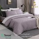 【BEST寢飾】天絲床包兩用被三件組 單人3.5x6.2尺 一粒落塵-灰 100%頂級天絲 萊賽爾 附正天絲吊牌