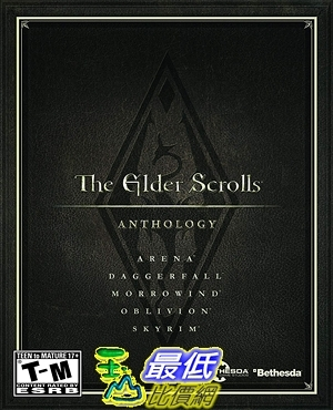 [7美國直購] 2018 amazon 亞馬遜暢銷軟體 The Elder Scrolls Anthology
