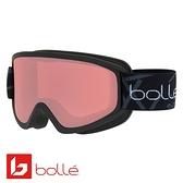 法國 Bolle FREEZE 雙層鏡片設計 防霧雪鏡 霧黑/朱紅 #21797