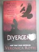 【書寶二手書T5/原文小說_LPB】Divergent_Veronica Roth
