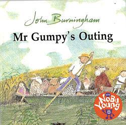 『童書久久書單』『繪本123‧吳敏蘭老師書單』-- MR GUMPY OUTING /單CD (中譯:和甘伯伯去遊河)
