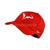 Nike 帽子 Rafa Arobill H86 Cap 紅 白 西班牙蠻牛 納達爾 老帽 男女款 【PUMP306】 850666-634