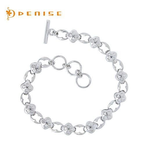 手鍊 925純銀「極致手鍊」銀飾禮品/情人禮物