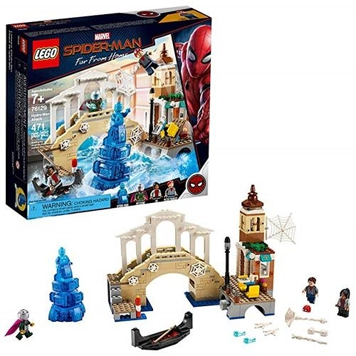 LEGO 樂高 Marvel Spider-Man Far From Home: Hydro-Man Attack 76129 Building Kit (471 Piece)