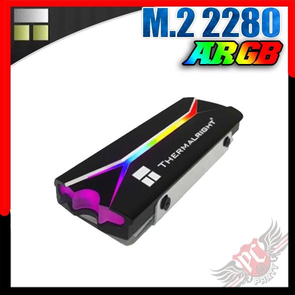 [ PCPARTY ] 利民 Thermalright M.2 2280 ARGB SSD 固態硬碟散熱片