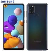 SAMSUNG三星 Galaxy A21s 智慧型手機4G/64G-黑【愛買】