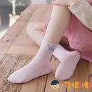 五雙裝 女童襪子純棉兒童襪子春秋中大孩棉襪嬰兒中筒襪【淘嘟嘟】