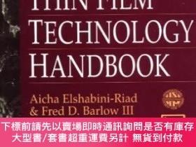 二手書博民逛書店Thin罕見Film Technology HandbookY464532 Aicha Eishabini-r