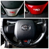 TOYOTA豐田 神車RAV4【TRD方向盤標誌貼紙】標誌貼膜 T牌休旅車 轉向盤升級 精品配件