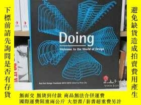 二手書博民逛書店Doing:罕見Welcome to the World of