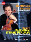 【停看聽音響唱片】【DVD】帕爾曼經典協奏曲之夜:巴倫波因指揮柏林愛樂管弦樂團