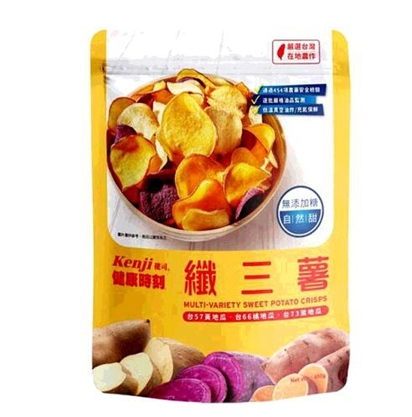 [COSCO代購] C123862 KENII健司 MULTI-VARIETY POTATO CHIPS 纖三薯脆片400公克