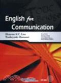 博民逛二手書《English for Communication (附2光碟)》