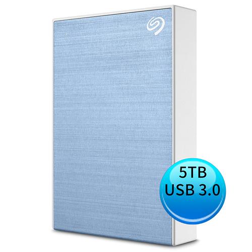 (2019新款) Seagate Backup Plus Portable 5TB USB3.0 2.5吋 外接硬碟 冰川藍 STHP5000402