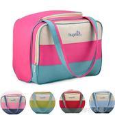 多功能超大容量媽咪包母嬰帆布手提包嬰兒包待產袋子外出包『櫻花小屋』