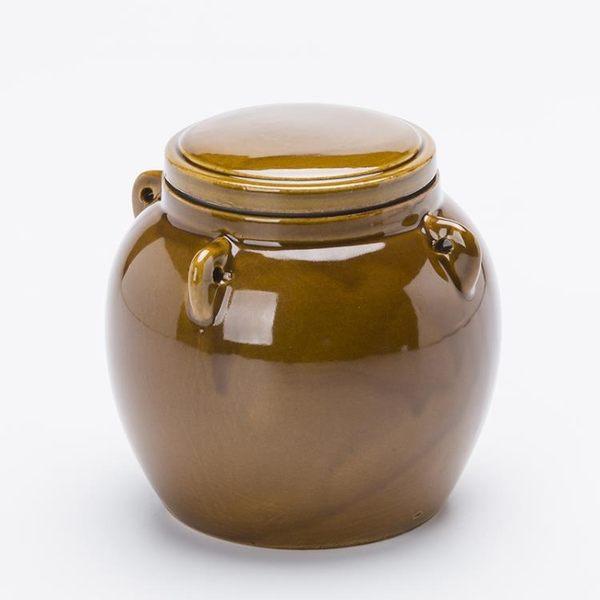 腌咸菜的壇子陶瓷罐腌菜罐蜂蜜罐咸菜罐泡菜壇子腌制罐小壇子家用 生活樂事館NMS
