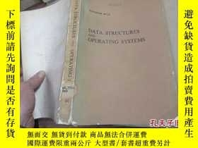 二手書博民逛書店data罕見structures and operating s