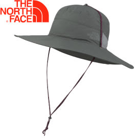 【The North Face 抗UV遮陽帽 聖多那灰S/M】NF00CF7U/遮陽帽/大圓帽/漁夫帽/登山帽★滿額送