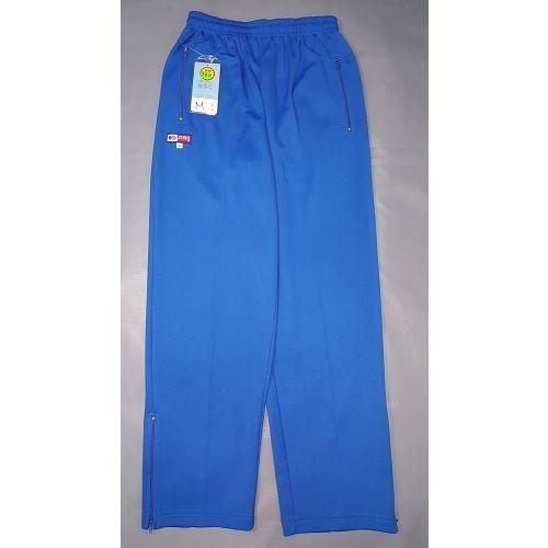 亞曼尼台灣製造平口運動●休閒●工作褲【 101-寶藍色】雙邊口袋拉鍊●雙邉英文印字【 守門員】