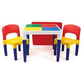 UNIVERSE OF IMAGINATION 2合1積木桌椅組