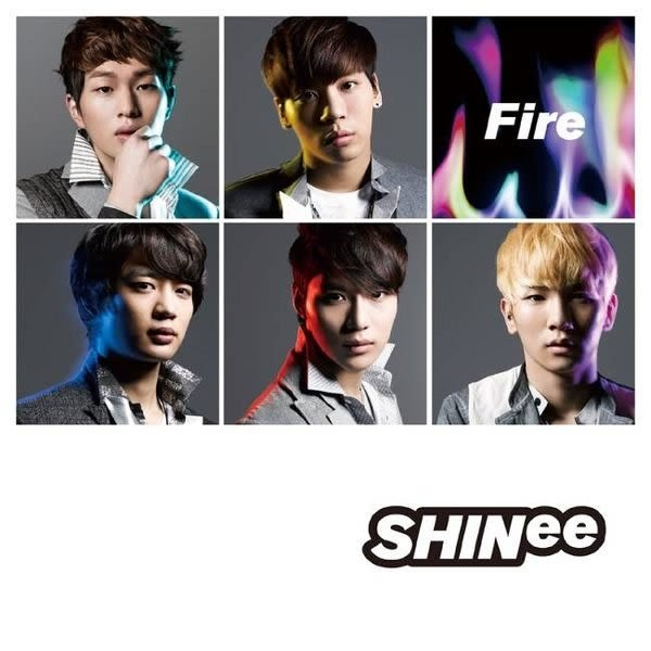 SHINee Fire CD 普通版 (購潮8)