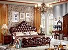 【大熊傢俱】8808 美式床 雙人床 床台 實木床 床架 六尺床 歐式 另售化妝台 衣櫃