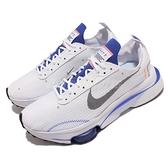 Nike 休閒鞋 Air Zoom-Type SE 白 藍 氣墊 男鞋 舒適厚底 解構【ACS】 CV2220-101