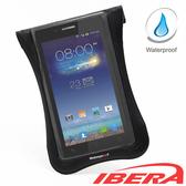 IBERA 自行車 智慧型 5吋~5.8吋 專用 防水 手機袋(黑)
