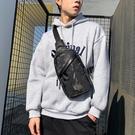 迷彩新款胸包男士包包側背斜背包男韓版潮學生帆布休閒胸前小背包 黛尼時尚精品