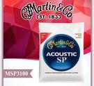 【小麥老師樂器館】【A182】►現貨►原廠公司貨 Martin 馬丁 MSP3100 12-54 民謠吉他弦