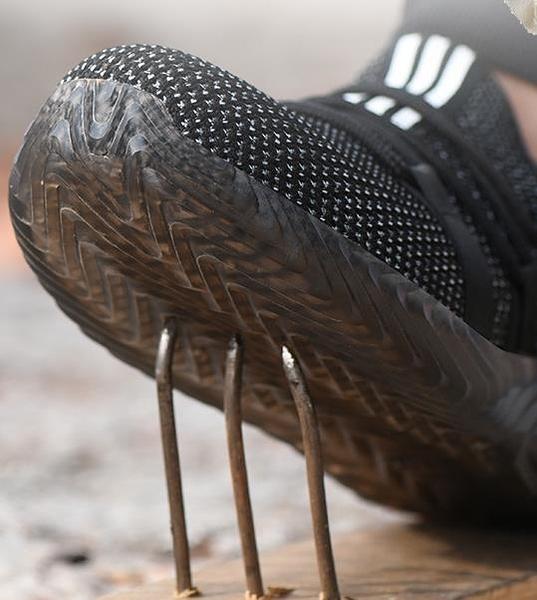 安全鞋 勞保鞋男工作鞋輕便防臭夏季透氣防砸防刺穿軟底夏天安全工地老保  維多原創