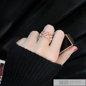 戒指女日韓潮人學生個性網紅戒開口關節冷淡風chic極簡食指指環  99購物節