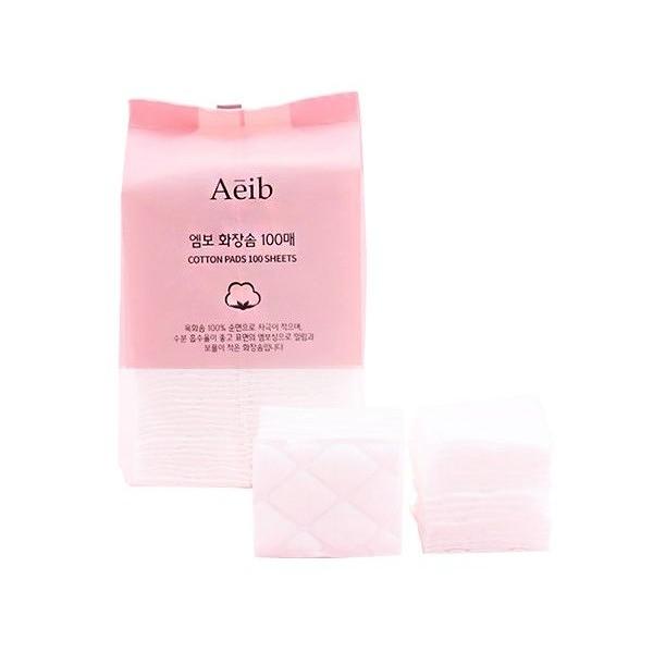 韓國 Aeib 化妝棉(100片)【小三美日】