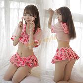 角色扮演服 性感睡衣 草莓教主香香學生裝《金牛大吉》