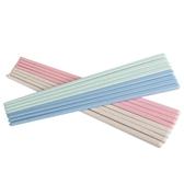 小麥秸稈塑料環保餐具筷子創意家用防滑個性彩色快子防霉8雙套裝