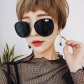 太陽眼鏡 網紅明星同款復古大框修臉墨鏡【O3308】☆雙兒網☆