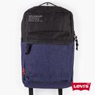 Levis 男女同款 L1丹寧後背包 簡約都會電腦包