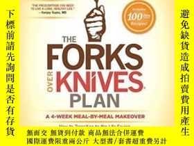 二手書博民逛書店The罕見Forks Over Knives PlanY2551