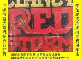 二手書博民逛書店紅色風暴罕見red storm rising(英文原版小說) B