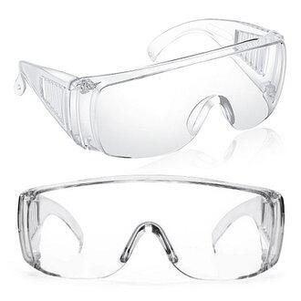 全新 全透明專業安全護目眼鏡 輕量版6入 防飛沫/噴濺/ 防疫專用 PC材質【3期零利率】