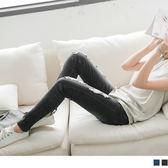 OB嚴選《BC0162-》顯瘦刷色~嚴選刷白雪花破壞超顯瘦牛仔窄管褲‧2色--適 XS~XL