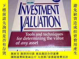 二手書博民逛書店英文原版罕見Investment Valuation: Tool